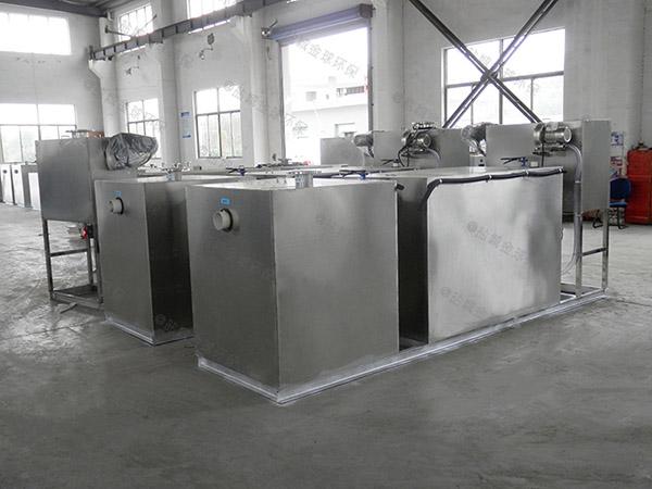 后厨3.5米*1.35米*1.85米自动化一体式隔油器专业品牌