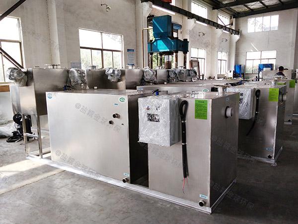 工程3.1米*1.2米*1.85米自动化一体化油水分离设备证书