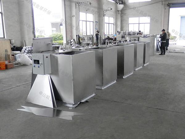 工地食堂2号智能一体化油脂分离设备技术说明