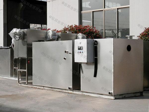 饭馆甲型智能型一体式隔油池重量