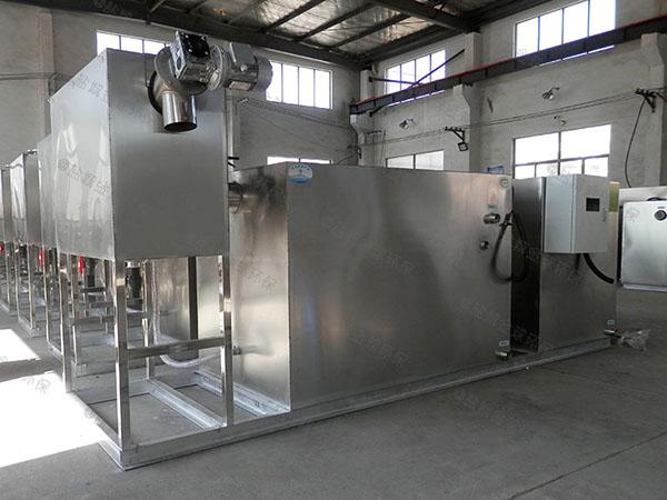 工地食堂2号全自动一体化油水分离提升设备过程及相关设备