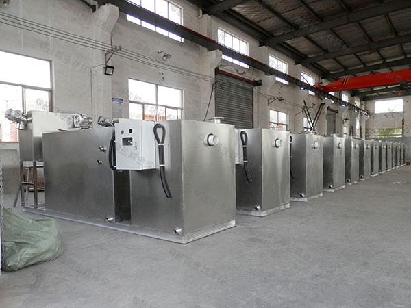 工地8吨的长宽高组合式油水分离隔油池厂家品牌