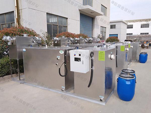 饭馆3.1米*1.2米*1.85米组合式一体化油水分离提升设备批发厂家