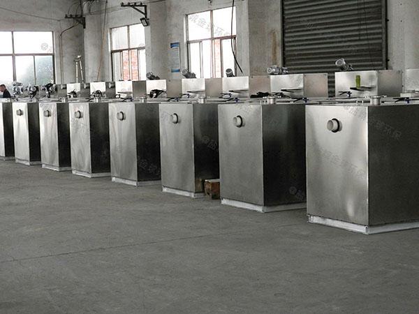 厨余2.8米*1.2米*1.75米智能型油水分离处理装置必须装么