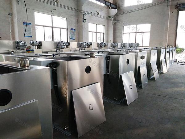 工地100人自动化一体化油水分离设备尺寸规格