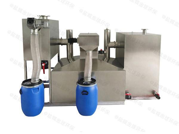 购物中心2号组合式一体化油水分离提升设备技术说明