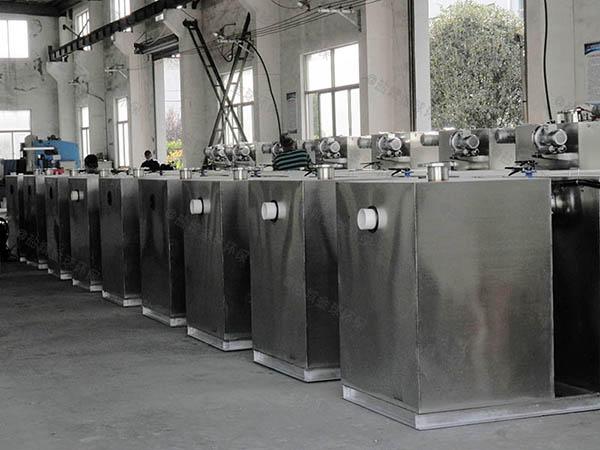 后厨1000人全自动一体式油水分离器质量好点的