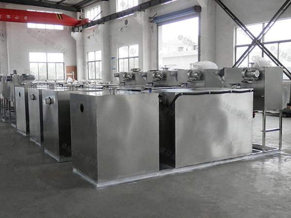 后厨3.1米*1.2米*1.85米自动化一体化油脂分离器种类