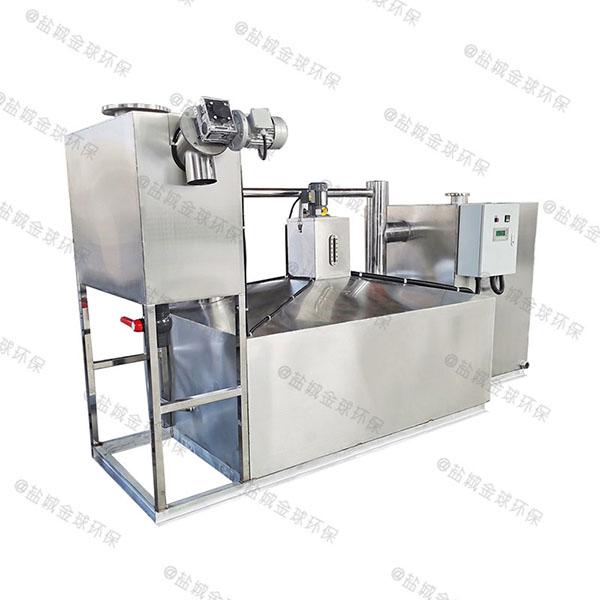 工地食堂甲型自动化油水分离机设备双杯加什么油
