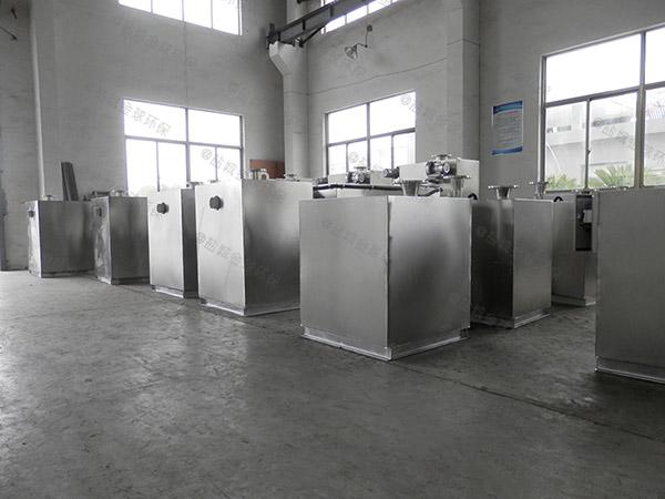 饭堂500人自动化油水分离机设备过程及相关设备