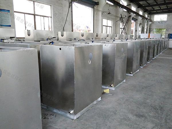 工地1000人自动排水油水分离处理机器有用吗