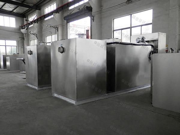 工厂食堂2.8米*1.2米*1.75米自动油水分离过滤机使用方法及注意事项