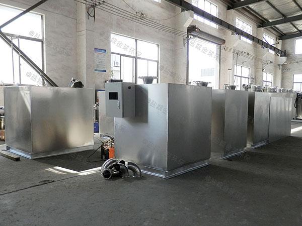 饭馆2.8米*1.2米*1.75米自动排水油水分离处置设备一般什么店有卖