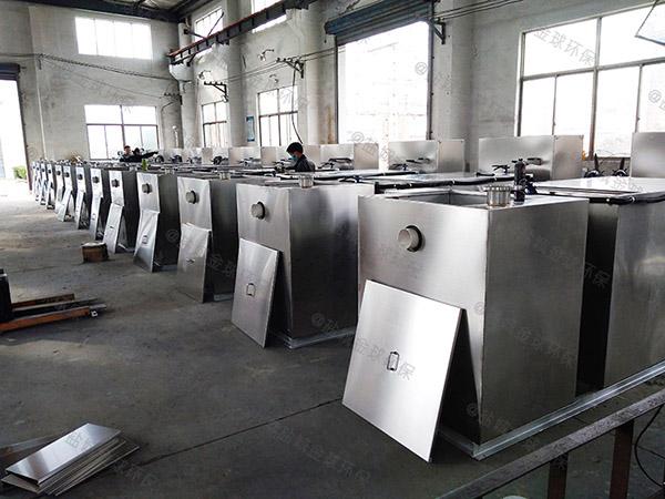 后厨500人自动化一体式隔油提升设备一般什么店有卖