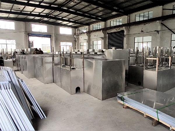 饭堂2.8米*1.2米*1.75米智能油水分离处置设备种类