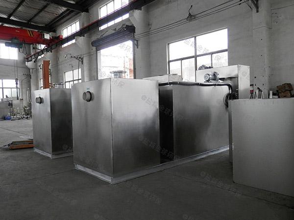 单位食堂30立方自动油水分离处置设备厂家品牌