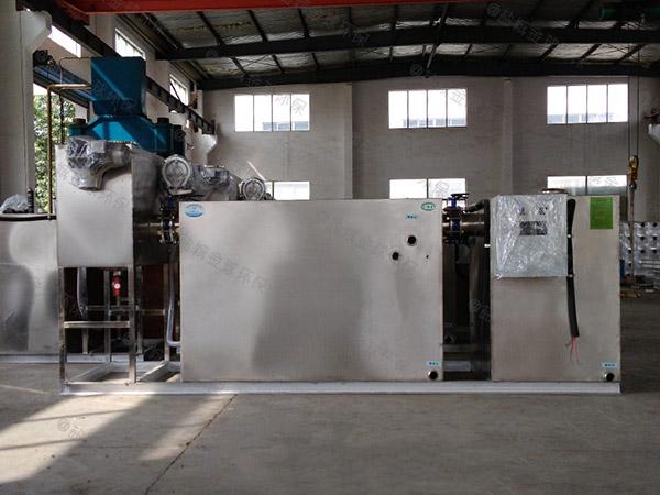 饭馆8吨的长宽高自动化一体式隔油提升设备专利