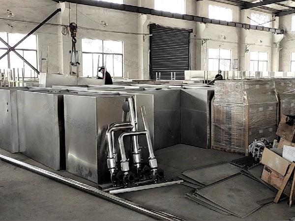工地100人组合式油水分离处理装备专营