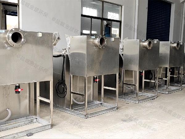 厨余2号自动化油水分离隔油器重量