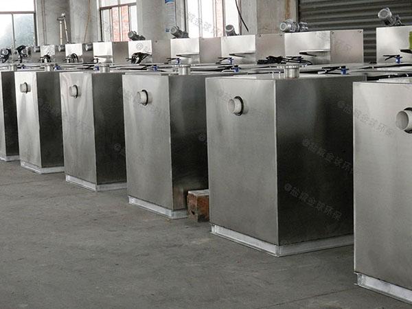 厨余1000人智能型油水分离及过滤装置实体厂家