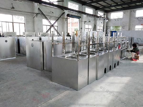 厨余3.5米*1.35米*1.85米自动除渣一体化油脂分离设备重量