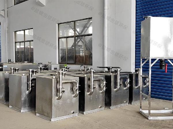 厨余1000人智能一体式隔油设备实体厂家