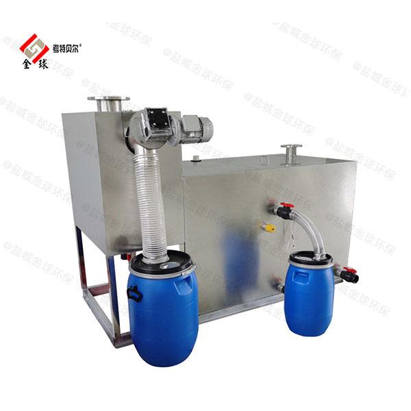 工程100人自动提升油水分离机设备种类