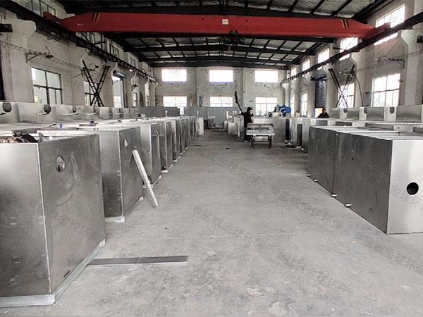 饭馆2.8米*1.2米*1.75米自动一体式隔油提升设备厂家品牌