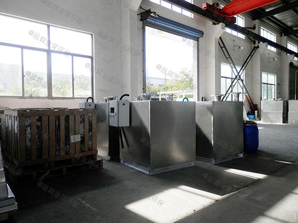 饭馆1000人自动化油水分离隔油器实体厂家