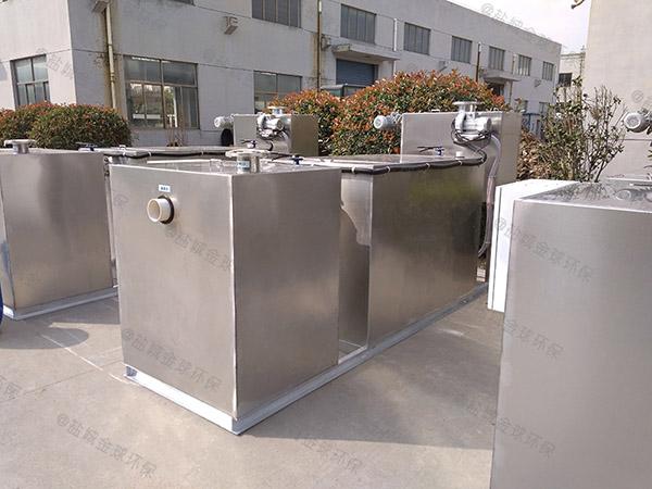单位食堂甲型自动一体式隔油设备更佳温度是多少