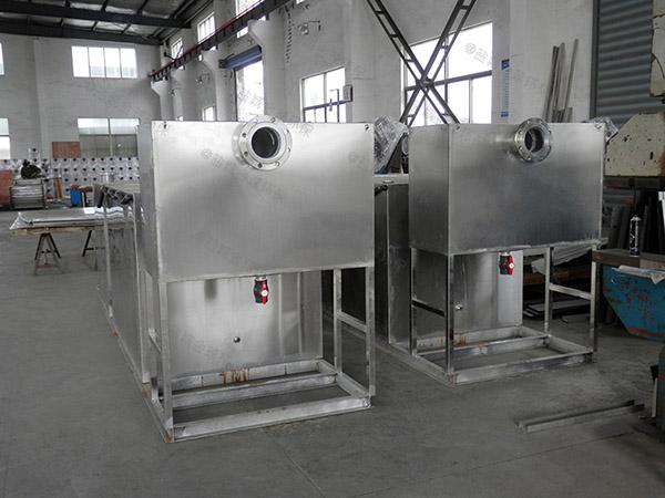 工程3.5米*1.35米*1.85米自动油水分离隔油池厂家批发