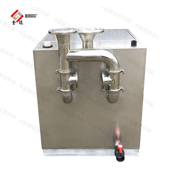 厨余2.8米*1.2米*1.75米自动除渣油水分离隔油池油用什么泵抽