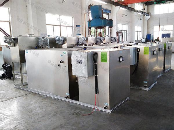 厨余3.1米*1.2米*1.85米智能型油水分离处理机器种类