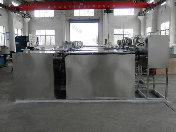 工厂食堂甲型自动提升油水分离过滤设备做法图集
