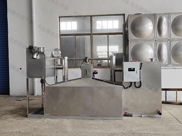 工地甲型自动刮油一体化油脂分离器尺寸规格