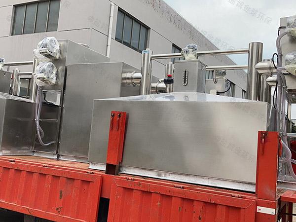 工程甲型全自动一体式油水分离器多长时间更换