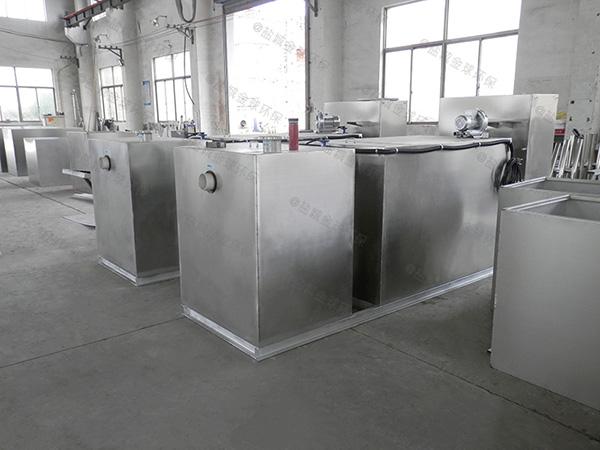 饭馆8吨的长宽高自动一体化隔油装置更佳温度是多少