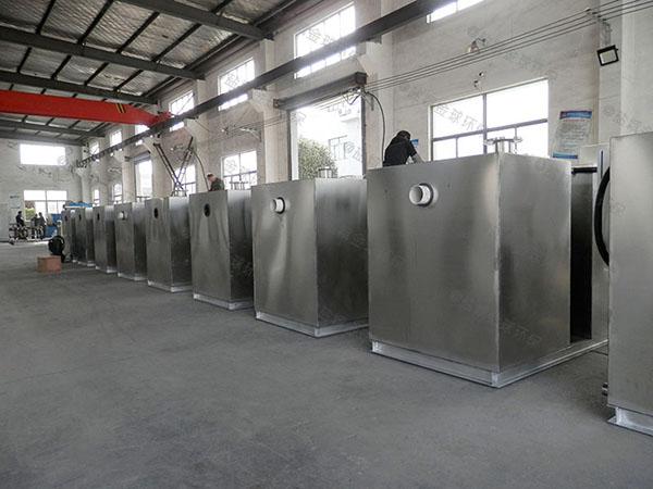 工地食堂1000人自动化油水分离隔油池使用方法及注意事项