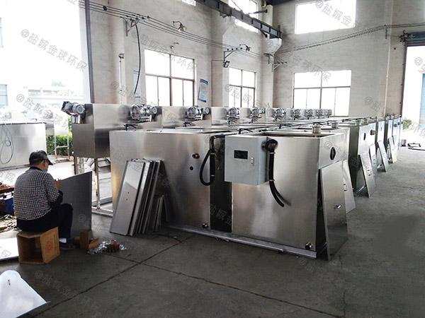 工地食堂3.1米*1.2米*1.85米组合式油水分离过滤机做法图集