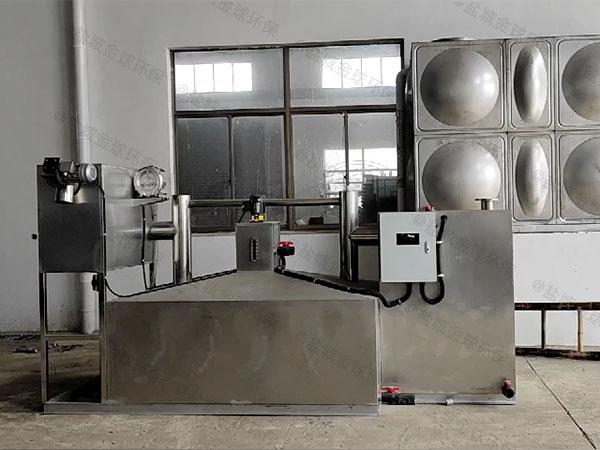 工程8吨的长宽高自动除渣油水分离及过滤装置原理图纸