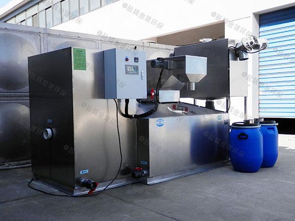 工程8吨的长宽高自动提升油水分离处置设备尺寸规格