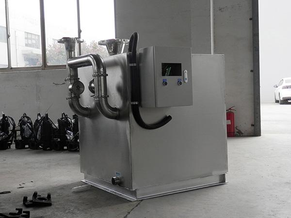 工地食堂1000人自动排水一体化油水分离提升设备专营