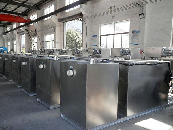 饭堂甲型智能型油水分离过滤设备一般什么店有卖