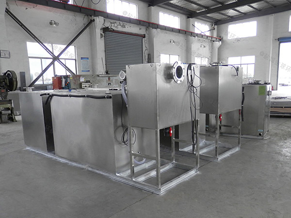 厨余3.1米*1.2米*1.85米智能一体化隔油装置油用什么泵抽