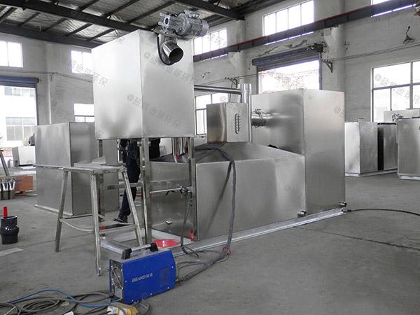 工程3.5米*1.35米*1.85米组合式油水分离隔油器多大尺寸