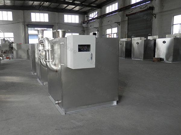 单位食堂1000人自动提升油水分离处理机器过程及相关设备