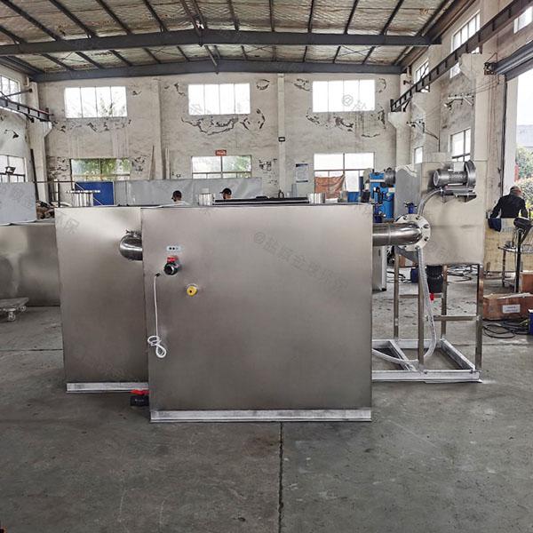厨余2.8米*1.2米*1.75米智能一体化油水分离装置有用吗