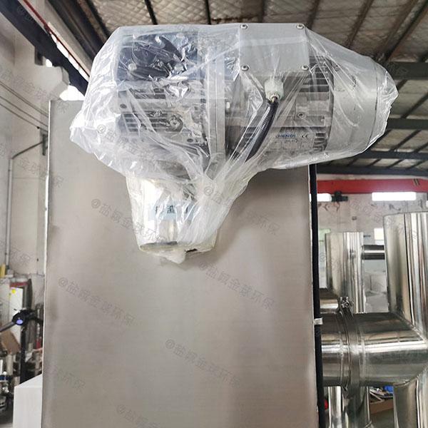 购物中心8吨的长宽高自动提升油水分离过滤机必须装么