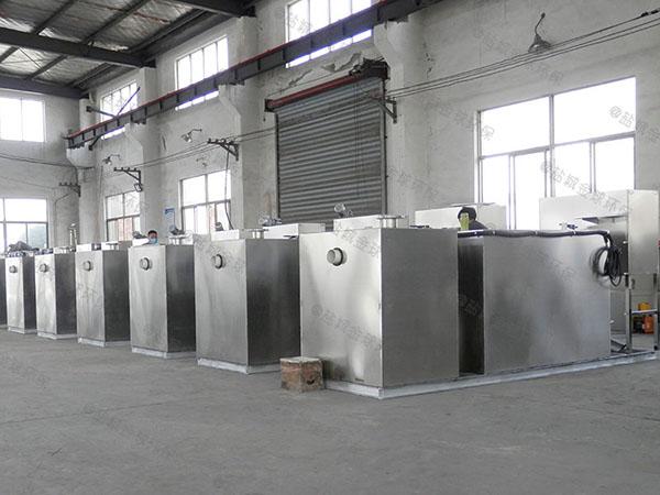 工程500人智能型油水分离处置设备技术说明