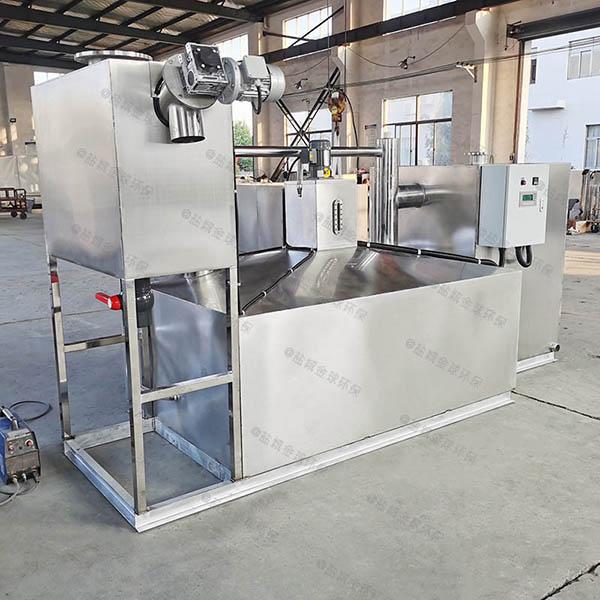 后厨甲型组合式油水分离处理机器报价单
